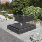 Industrialna fontanna ogrodowa