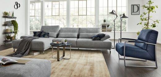 Kanapa do salonu w stylu loftowym, czyli pomysły i modne inspiracje